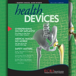Health Devices Journal - March 2012