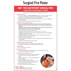 Surgical Fire Safety Posters